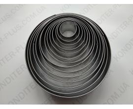 набор вырубок круг металл, (от 2,3 до 11,4 см), 14 шт