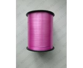 лента ярко-розовая в бабине, 0,5 см