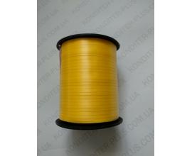 лента желтая в бабине, 0,5 см