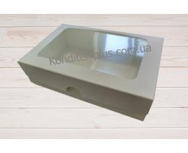 коробка для зефиров, эклеров 22,5*15*6 см