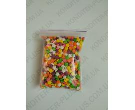 посыпка разноцветные цветочки, 100 грамм