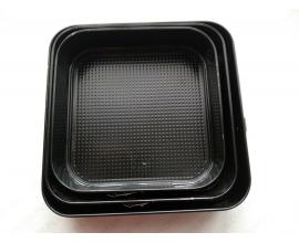 набор форм квадратных, 24-26-28 см