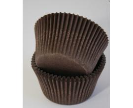 формочки коричневые большие, 55*43, 100 шт