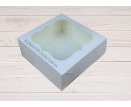 коробка белая, 15*15*6 см