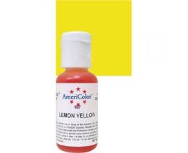 Лимонно желтый