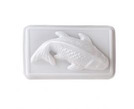 форма пластиковая  3д рыба средняя