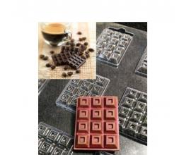 пластиковая форма мини плитки №2