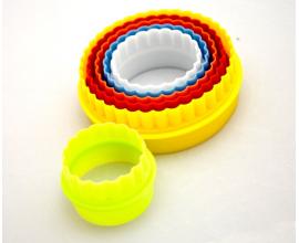 набор кольца разноцветные, 6 шт