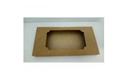 Коробка для плитки шоколада крафт №2, 160*80*15