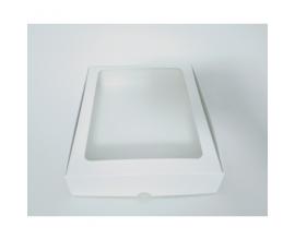 Коробка для макаронс белая, 200*240*50
