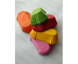 формочки для эклеров ассорти, 100 шт,  дно 8*3.5 см