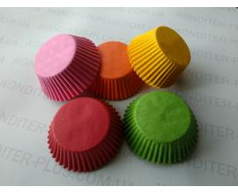 формочки для кексов ассорти, 100 шт, 4,5*2,5 см