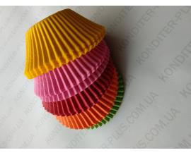 формочки для кексов большие, 100 шт, 55*45 мм