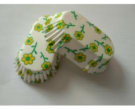 капсулы для конфет овальные, 96 шт