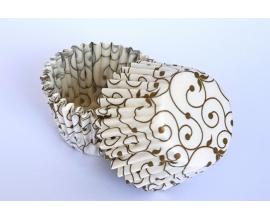 формочки для конфет вензель, 30*25 мм, 50 шт