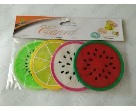 подставка фруктовое ассорти, 4 шт, 8,5 см