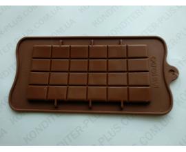 сил.форма плитка шоколада классика, 16*8 см