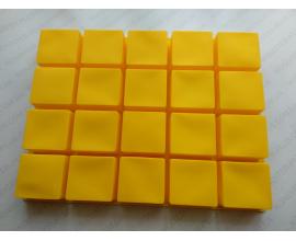сил.форма большие квадраты 20 шт, 7*6,6*3,3 см