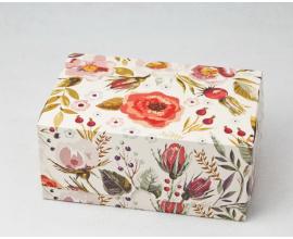 коробка для сладостей акварель 180*120*80
