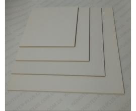 подложка прочная двп, 3 мм, круг  40*40 см, белая