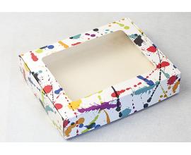 коробка для пряников 192*148*40, акварель