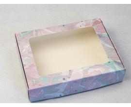 коробка для пряников 192*148*40, светло-сиреневая