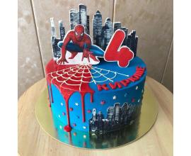 вафельная картинка Человек паук №2