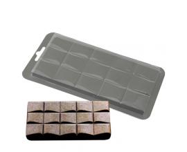 плитка для шоколада Волна