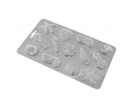 молд пластиковый Ракушки №2, 4-5 см
