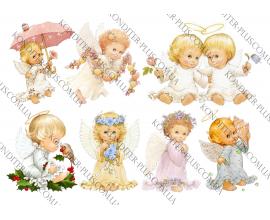 вафельная картинка Ангелы 3