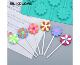силиконовая форма цветочек, 4 см