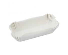 форма для эклеров белая, 10*3 см, 17 шт
