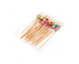 бамбуковая палочка с шариком, 50 штук
