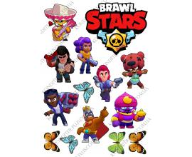 вафельная картинка brawl stars 2