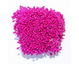 тычинки ярко-розовые, 70 шт