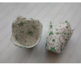 формочки для кексов тюльпан, 10 шт,