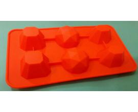 силиконовая форма драгоценные камни 2