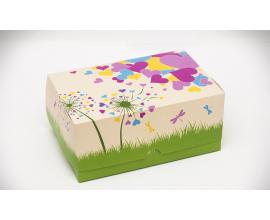 коробка для сладостей одуванчик 180*120*80