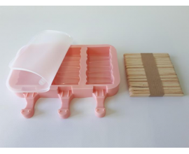 силиконовая форма для мороженого,  19*10см