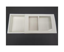коробка белая для эклеров пенал, 240*150*42