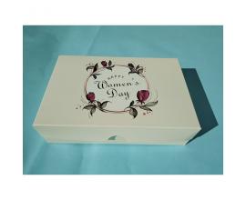 """коробка для сладостей Happy Women's Day"""", 225*150*60"""