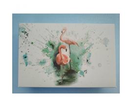 """коробка для сладостей Фламинго"""", 225*150*60"""