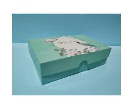 """коробка для сладостей """"With Love"""", 225*150*60"""