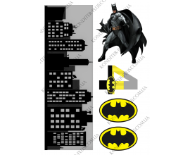 вафельная картинка бэтмен