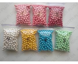 жемчужина розовая №1 5-6 мм, 50 грамм