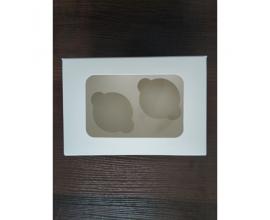 коробка для двух кексов, 160*110*85