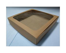 коробка для сладостей, крафт 300*300*55