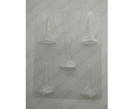 пластиковый молд эфелевая башня 7.5 см