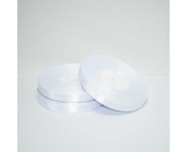 лента атласная белая 0.6 см