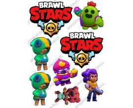 вафельная картинка brawl stars4